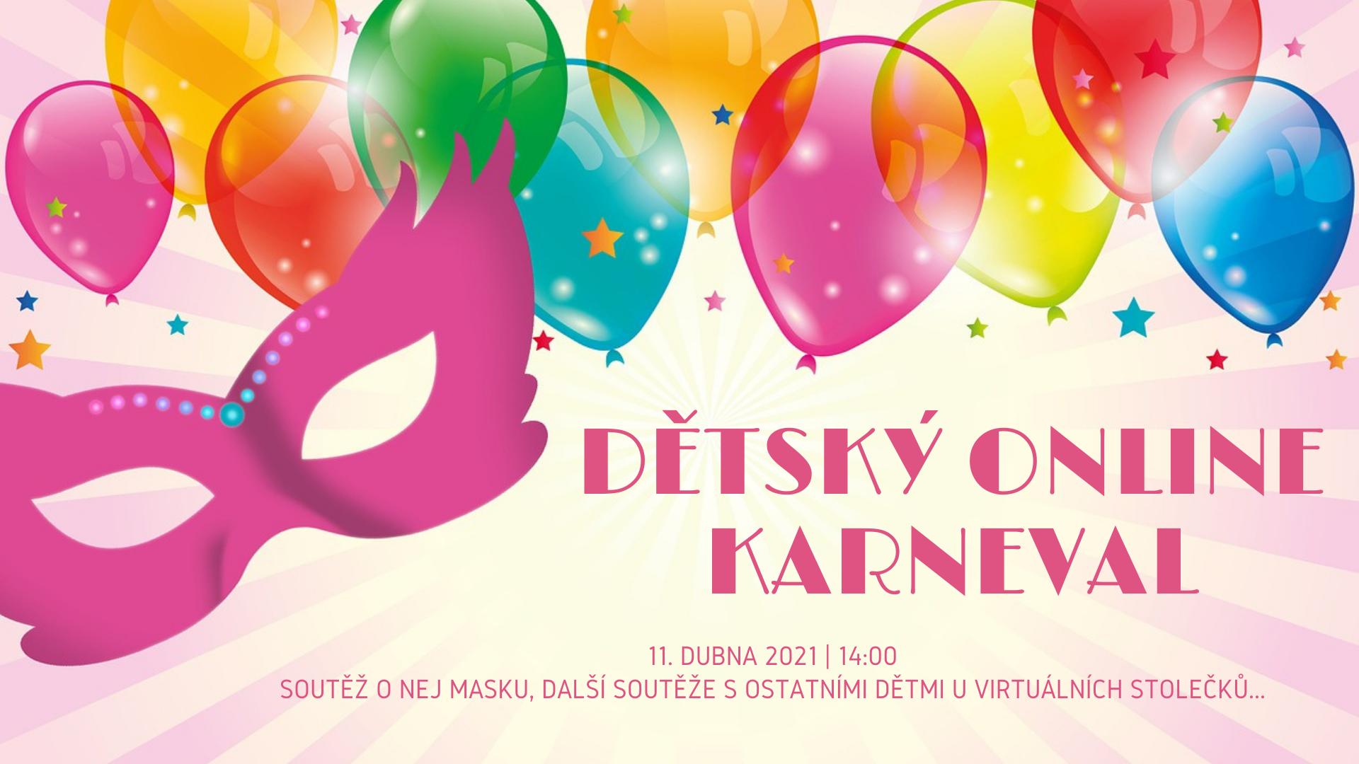 Dětský online karneval